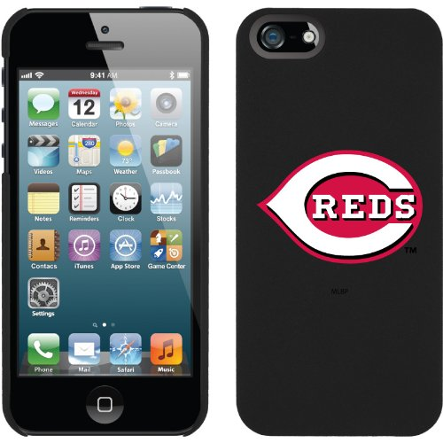 Great Sale MLB Cincinnati Reds iPhone 5 Snap-On Case - Black