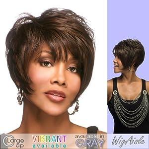 MOORE-V (Vivica A. Fox) - Futura Fiber Full Wig in DARKEST BROWN