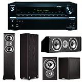 Onkyo TX-NR636 7.2-Channel Network A/V Receiver Plus A Pair of Polk Audio TSi 300 Floorstanding Speakers, TSi... by Onkyo