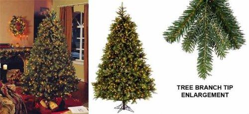 4.5 Foot Mixed Needle Balsam Fir Artificial Christmas