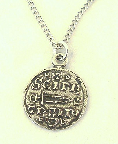 Viking Coin Pendant Necklace In Fine English Pewter (Gift Boxed)