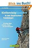 Klettersteige Bayern: 40 luftige Wege zwischen Allg�u und Berchtesgaden. Alle Klettersteigklassiker in den bayerischen Hausbergen mit Tourenkarten, Schwierigkeitsgrad, Topo, Anfahrt