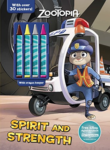 Disney Zootopia Spirit and Strength (Color & Activity with 4 Chunky Crayons)