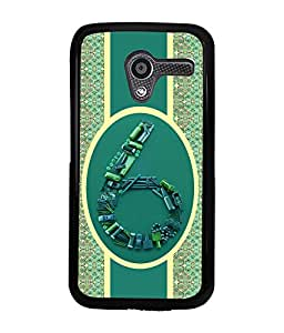 Fuson 2D Printed Numerology Designer back case cover for Motorola Moto X - D4378