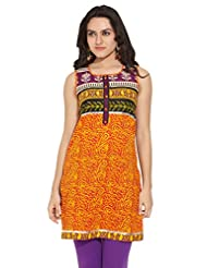 ANAHI Ladies Cotton Printed KURTA - B00QGSV1IA