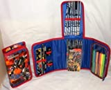 Transformers 3: Optimus Prime - 37pc Fold Out Filled Pencil Case