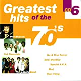 Various greatest hits of the 70's cd6 (CD Compilation, 18 Tracks) the hollies - the day that curly billy shot crazy sam mcgee / ike & tina turner - proud mary / j.geils band - one last kiss / dennis brown - money in my pocket / paul davidson - midnight r