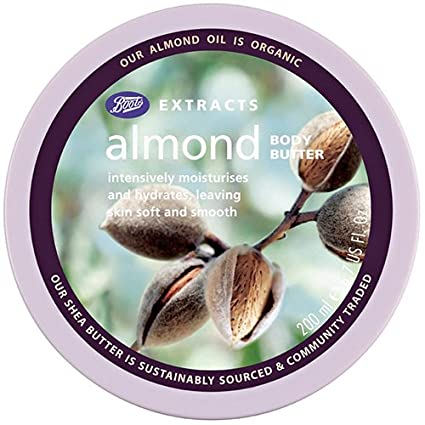 BOOTS Bts Ext Almond Body Butter 200ml