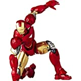Special Effects Revoltech Iron Man 2 Iron Man Mark 6 Non-scale ABS & PVC Painted Action Figure New P