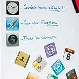 Regatron - Imanes iconos iphone / ipad / apple (dos modelos) imanes iphone modelo a