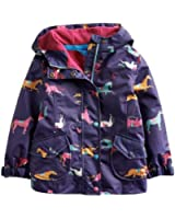 Joules Jnr Kirstie Girls Jacket (P) - Navy Pony - 4