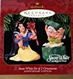 Hallmark Snow White & Dopey Ornament Set of 2