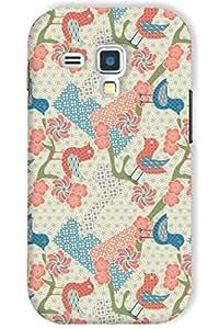 IndiaRangDe Hard Back Cover FOR Samsung Galaxy S3 III Mini I8190 I8190N