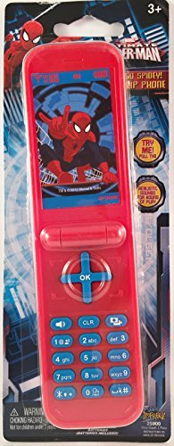 Ultimate Spider-man Go Spidey! Flip Phone