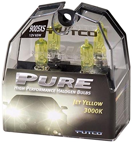 Putco 239005XJY Premium Automotive Lighting Jet Yellow Halogen Headlight Bulb