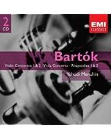 Bartók: Violin Concertos 1 & 2 - Viola Concerto - Rhapsodies 1 & 2
