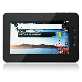 Gpad G10d 7 Inch Google Android 2.3 1080p 3d Game 4gb Capacitive Screen Silver