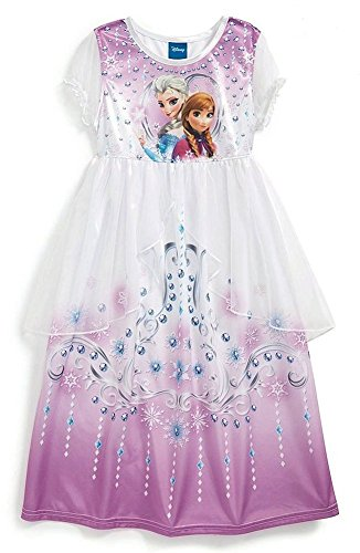 Disney Frozen Anna and Elsa Nightgown