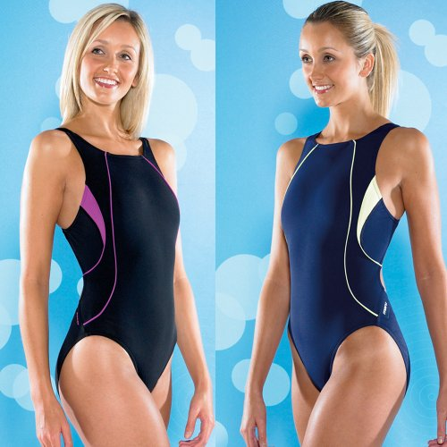 Maru Nina Pacer Womens Medium Leg Swimming Costume