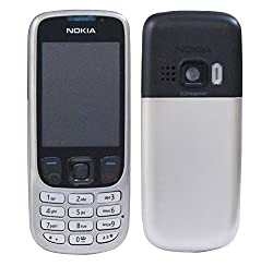 Nokia 6303 Replacement Body Housing Front & Back Original Panel - Silver