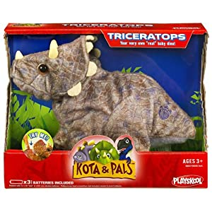 Playskool Kota and Pals Hatchling - Triceratops