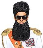 Military Wig and Beard Set - Adult Std.
