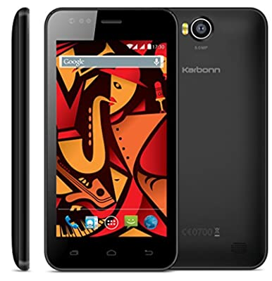 Karbonn Titanium Delight S22 (Black/Grey)