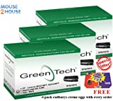 Green Tech - 3 Remanufactured HP Q7551A Toner Cartridge 6,500 Pages, HP 51A Toner Cartridge FOR HP LaserJet M3027 MFP Toner HP LaserJet M3027x MFP Toner HP LaserJet M3035 MFP Toner HP LaserJet M3035xs MFP Toner HP Laserjet P3005 Toner HP Laserjet P3005d