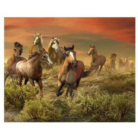 Picture of Hobbico Visual Echo 3D Effect The Wild Bunch 3D Lenticular Puzzle 500pc S4 (B000YB8FSY) (3D Puzzles)