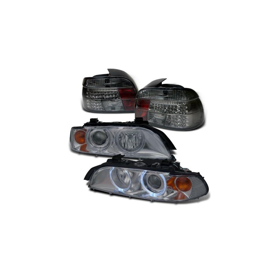 BMW E39 5 series Smoke Projector Head+led Tail Lights Brand New Set