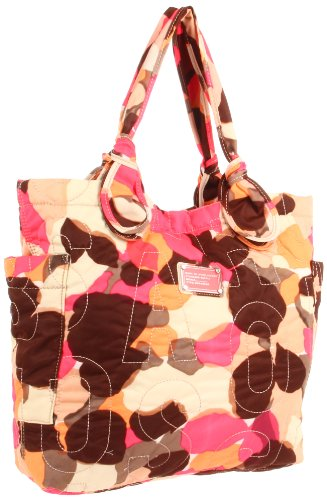 Marc By Marc Jacobs Marc by Marc Jacobs Pretty Nylon M3121120 Shoulder Bag,Parchment Multi,One Size