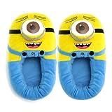 New Despicable Me Cattivissimo Me 3D Plush Slipper Laugh Minions Stewart Jorge Figure Shoes Pantofola