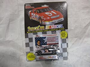 NASCAR #3 Dale Earnhardt, Sr. Five Time Winston Cup Champion Goodwrench Racing Team... by Racing Champions