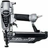 Hitachi NT65M2S 1-Inch to 2-1/2 Inch 16-Gauge Angled Finish Nailer with Air Duster