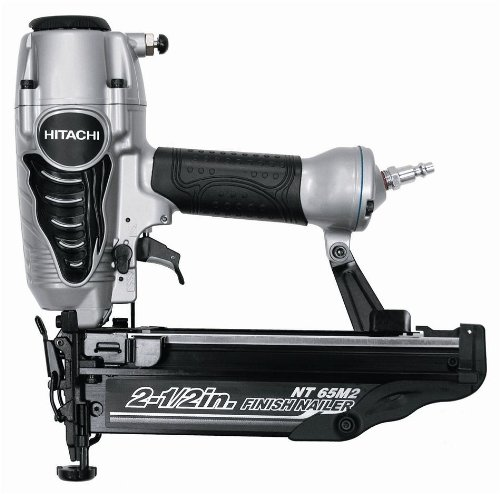 hitachi-nt65m2s-2-1-2-inch-16-gauge-finish-nailer-with-integrated-air-duster-silver