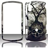 2D Tree Skull Sony Ericsson Xperia Play R800i Case Cover Hard Snap-on Rubberized Touch Phone Cover Case Faceplates