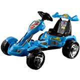 Lil RiderT Blue Ice Battery Operated Go-Kart