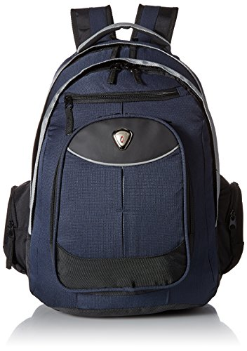 calpak-big-shot-navy-blue-19-inch-ripstop-nylon-polyester-deluxe-laptop-backpack