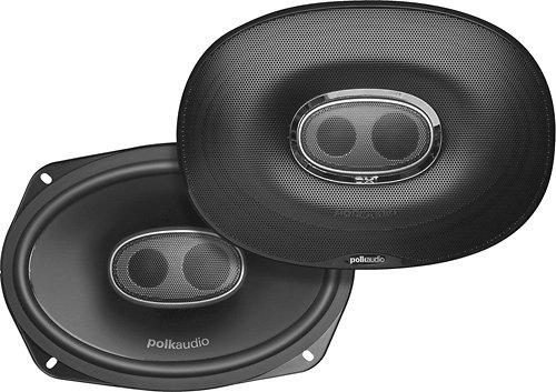 Polk Dxi690 3 Way 6X9 Speakers (Pair) 300 Watt
