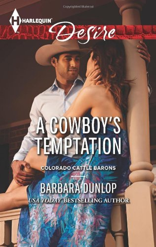 Image of A Cowboy's Temptation (Harlequin Desire\Colorado Cattle Barons)