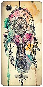 Snoogg Dream Catcher Colourful Designer Protective Back Case Cover For Microm...