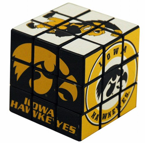 NCAA Iowa Hawkeyes Toy Puzzle Cube - 1