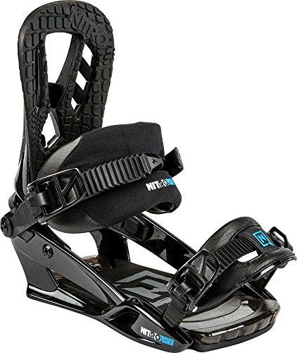 Nitro Snowboards Herren Snowboard-Bindung Pusher BDG 15