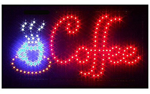 New Led Illuminated Advertising Signs Xxl Display Signs// Coffee