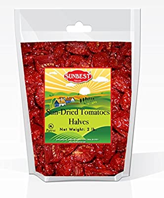 SUNBEST Sun-Dried Tomatoes Halves in Resealable Bag