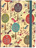 Folk Art Birds Journal (Notebook, Diary) (Mid-Size Journal)