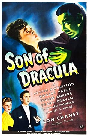 Son of Dracula Movie Poster