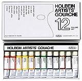 ホルベイン 不透明水彩絵具 ガッシュ 12色セット G701 5ml(2号)