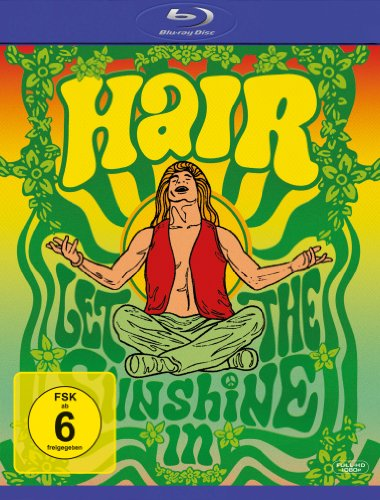 Hair [Blu-ray] [Import allemand]