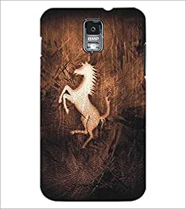 SAMSUNG GALAXY S5 HORSE Designer Back Cover Case By PRINTSWAG